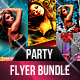 Hot Party Flyer Bundle V2 - GraphicRiver Item for Sale
