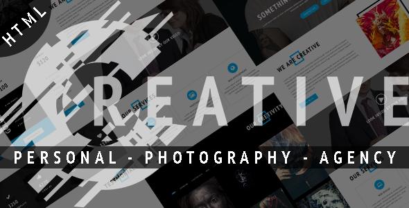 Creative – Personal Portfolio Template