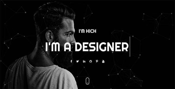 Hitch – One Page Personal HTML Template
