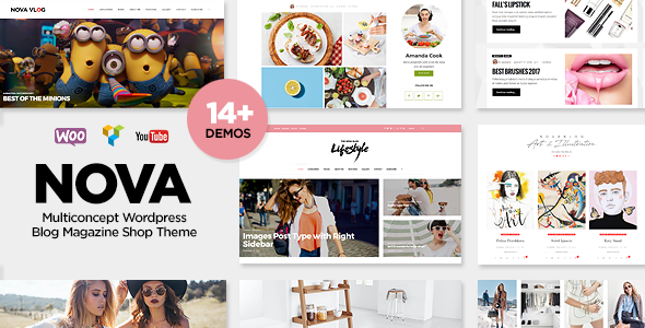 NovaBlog – Multi-Concept Blog / Magazine WordPress Theme
