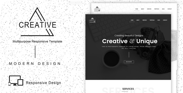 Creative – Responsive Multipurpose Template
