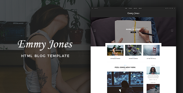 Emmy Jones – Blog Template