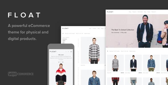 Float – Minimalist eCommerce Theme