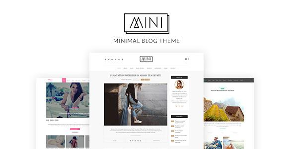 MINI - Minimal Blog WordPress Theme (Blog / Magazine)