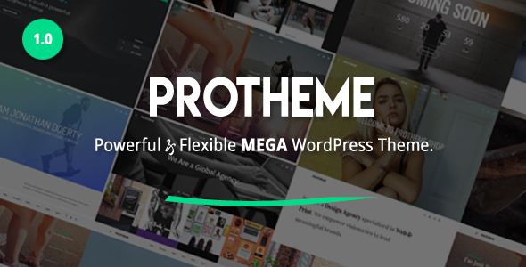 Protheme – Powerful & Flexible Mega WordPress Theme