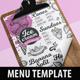 Ice Cream Menu-Graphicriver中文最全的素材分享平台