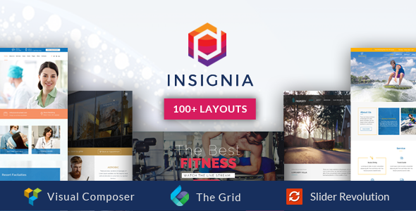 Insignia  – High Performance Creative MultiPurpose WordPress Theme