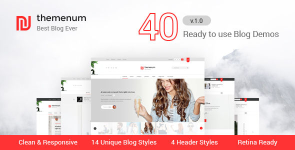 themenum – Responsive Blog HTML Template for Ads Businesses