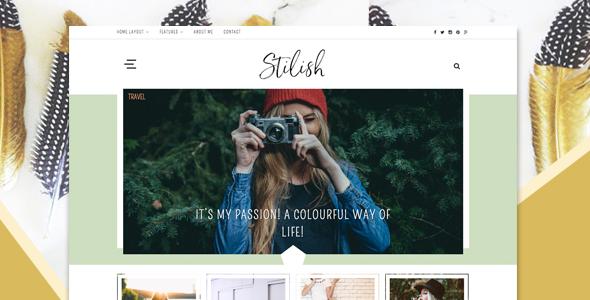Stilish – Responsive WordPress Blog Theme