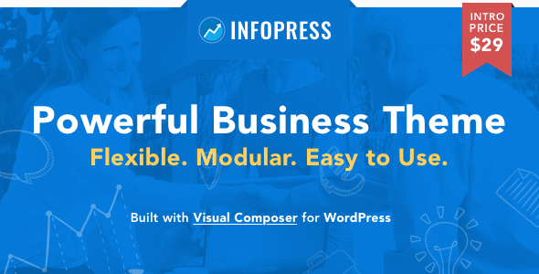 Infopress Multi-Purpose Business WordPress Theme