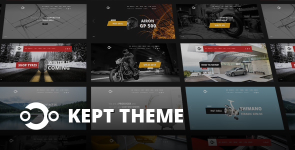 KEPT – Responsive OpenCart Theme