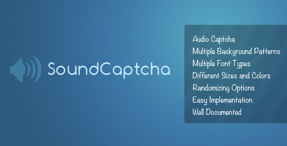 CodeCanyon SoundCaptcha Captcha that speaks 80773