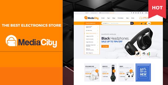 MediaCity – Technology Responsive Opencart Theme