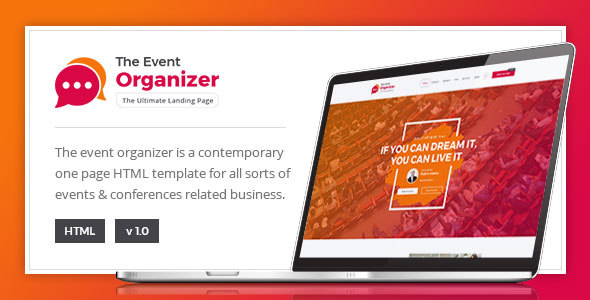 Event Organizer – For Conference and Event