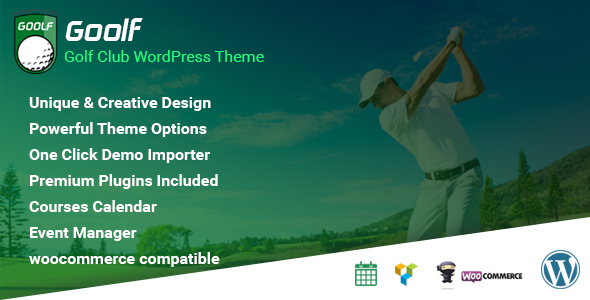 Goolf – Golf Club WordPress Theme