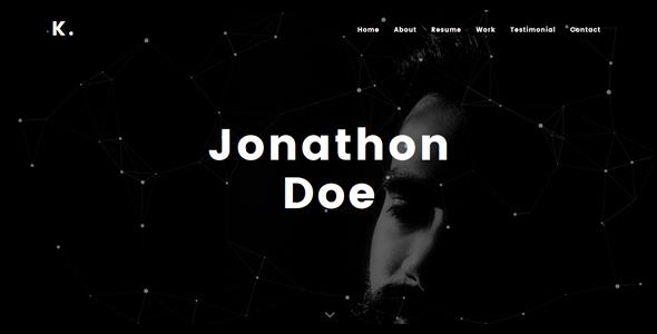 Kobra – Personal Portfolio WordPress Theme