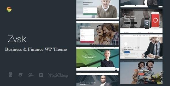 Zysk – Advisior & Finance WordPress Theme