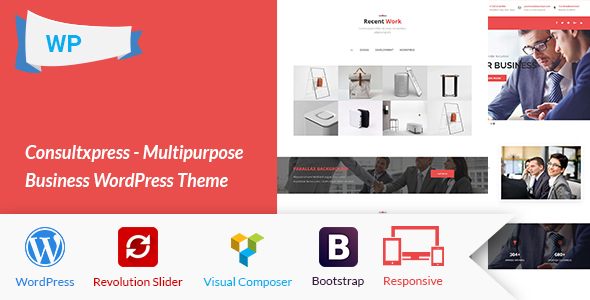 Consultxpress – Multipurpose Business WordPress Theme