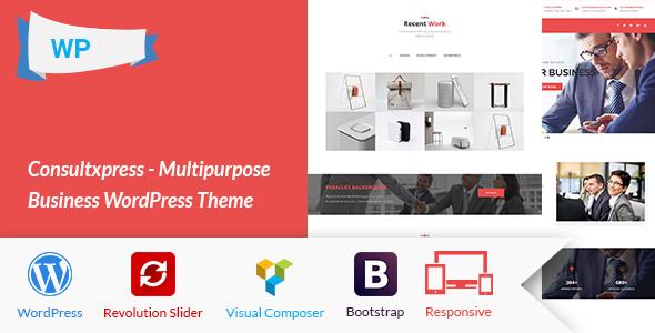 Consultxpress – Multipurpose Business WordPress Theme