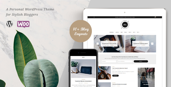 Chloe – A Personal Blog & Shop WordPress Theme