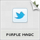 Purple, Magic Twitter BG - GraphicRiver Item for Sale