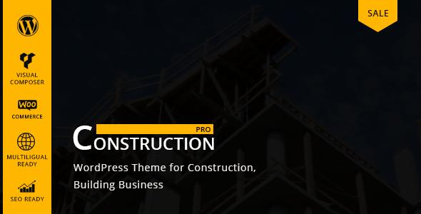 Constructionpro – WP Construction, Building Business