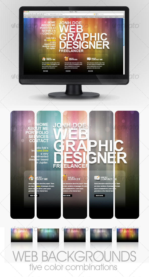 Colored Web Backgrounds - Backgrounds Graphics