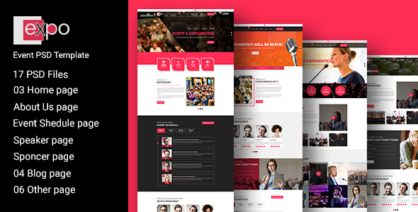 Event PSD Template