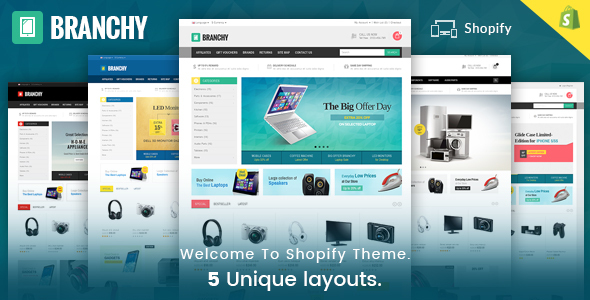 Branchy – Sectioned Multipurpose Shopify Theme
