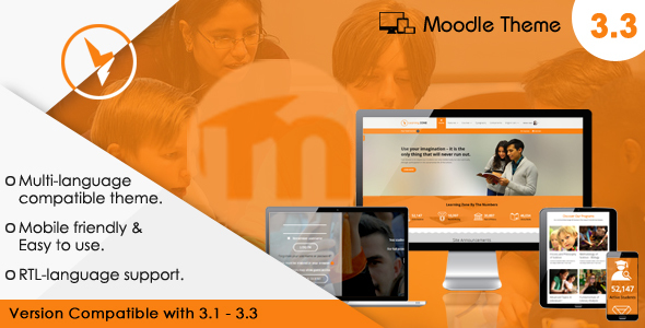 LearningZone – Responsive Moodle Theme