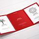 Tri-Fold Brochure A5 Mock-up-Graphicriver中文最全的素材分享平台