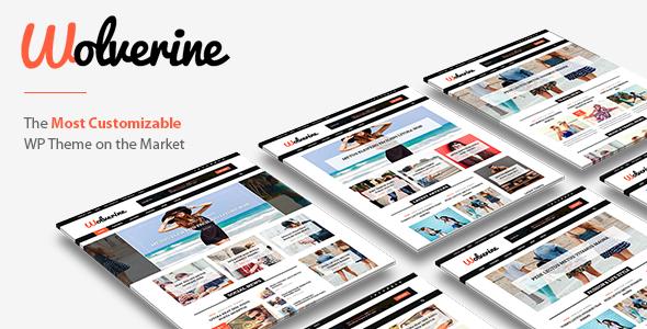 Wolverine – Responsive WordPress Magazine and Blog Theme