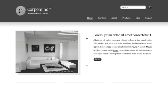 Corpomino - Creative Site Templates