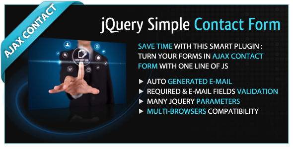 jQuery Simple Contact Form