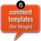 6 Comment Templates - GraphicRiver Item for Sale