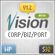 Vision Business Wordpress Template - ThemeForest Item for Sale