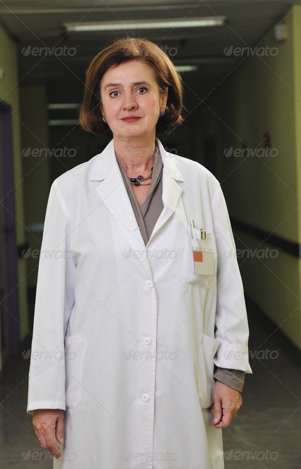 medical woman portrait - Stock Photo - Images