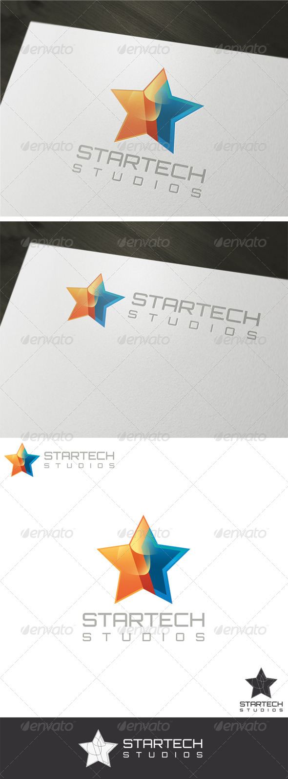 GraphicRiver 3D Startech Logo Template 1970664