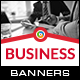 Business HTML5 Banners - 7 Sizes - BEE-CC-127 (Ad Templates)