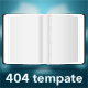 Torned Out - 404 Template - ThemeForest Item for Sale