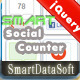 Smart Social Counter jQuery Plugin - WorldWideScripts.net Item for Sale