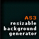 Resizeable Background Generator - ActiveDen Item for Sale