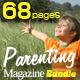68 Pages Parenting Magazine Bundle - GraphicRiver Item for Sale