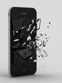 Smartphone with Broken Glass - PhotoDune Item for Sale