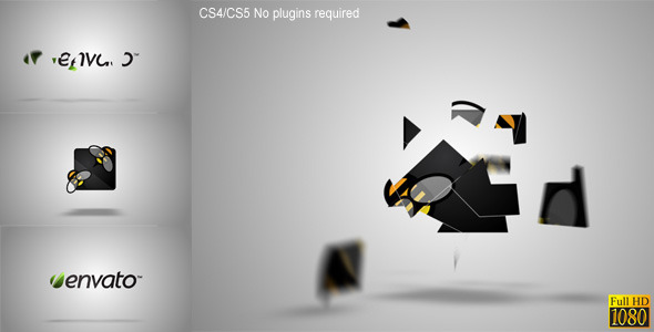 VideoHive Pieces Logo Formation 1980942