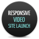 Responsive video site launch coming soon - ThemeForest Item for Sale
