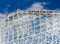 Thrill Seekers Exciting Rollercoaster Ride - PhotoDune Item for Sale
