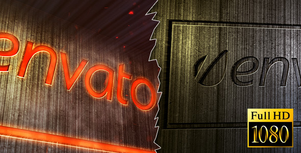 After Effects Project - VideoHive Metal Stamp Logo 1984594
