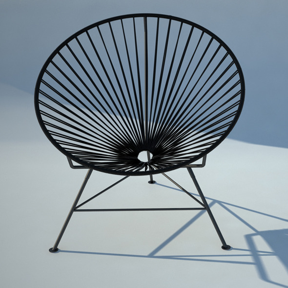 3DOcean Acapulco wire chair 1985015