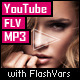 YouTube/FLV/MP3 Player with FlashVars